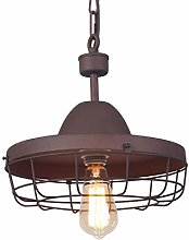 &Pendant Chandelier Pendant Lamp, Wrought Iron