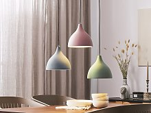 Pendant Lamp Grey Concrete Scandinavian Style