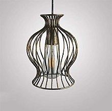 Pendant Lamp Metal Basket Bird Cage Elegant