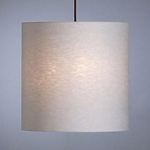 Pendant light by Schnepel, natural, linen