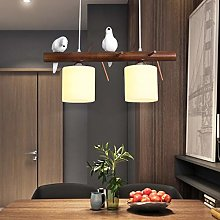 Pendant Light Dining Table Wooden Chandelier