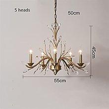 Pendant Light Fixtures European Style Crystal