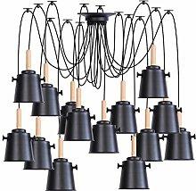 Pendant Lights, Adjustable 2m Wire DIY Metal