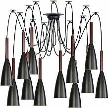 Pendant Lights, Adjustable Wire Black Metal DIY