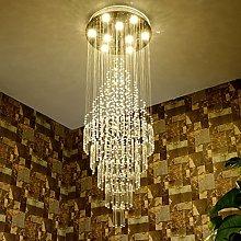 *Pendant Lights Crystal Chandeliers, Duplex Villa