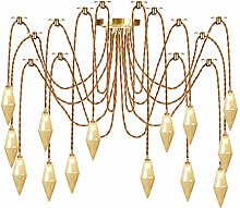 Pendant Lights with Creative Glass Shade, Height