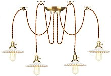 Pendant Lights with Switch, Ceramics Shade, Height