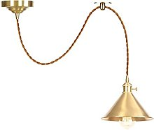 Pendant Lights with Switch, Height Adjustable