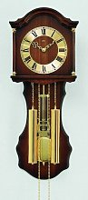 Pendulum Clock AMS Uhrenfabrik Colour: Dark brown