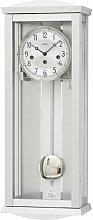 Pendulum Clock AMS Uhrenfabrik Colour: Silver/White