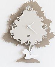Pendulum Tree Clock 2885 Arts and Crafts
