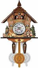 Pendulum Wall Clock,Cuckoo Clock Quartz Cuckoo