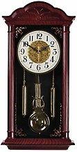 pendulum wall clock, grandfather clock, silent