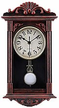 Pendulum Wall Clock Retro Quartz Decorative