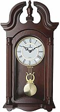 Pendulum Wall Clock, Silent Decorative Wood