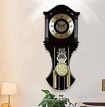 Pendulum Wall Clocks,Chime Clocks with Cherry Tone