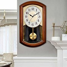 Pendulum Wall Clocks Grandfather Wood Wall Clock