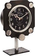 Pendulux Altimeter Retro Aluminium Mantle Clock in