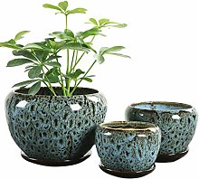 PENG FEI SHOP Outdoor Flower Pot Ceramic Large