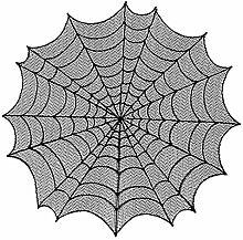 pengyu-💗 _Halloween Octagon Creepy Spiderweb