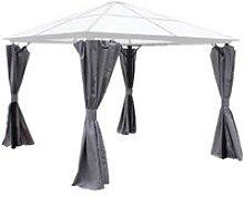 Peninsula Polycarbonate 3x3m Curtain set