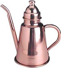 Pentole Agnelli Copper Oil Pourer with Lid and Hem