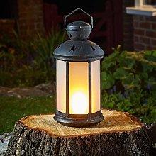 Penzance Lantern Realistic Flaming Effec