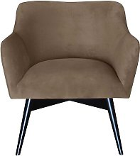 Pepi Armchair Happy Barok Upholstery: Beige
