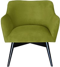 Pepi Armchair Happy Barok Upholstery: Lime