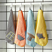 Peplum hanging, kitchen cleaning towel, absorbent