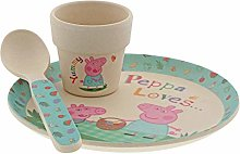 Peppa Pig A29659 Egg Cup Set, Bamboo
