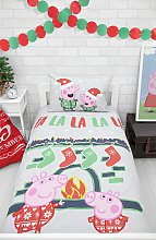 Peppa Pig Fa La La La La Bedding Set - Toddler