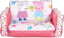 Peppa Pig Inflatable Kids Mini Sofa and Flip Out