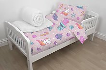 Peppa Pig Nursery Pink Character Cotton Bedding