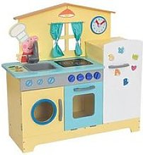 Peppa Pig Peppa'S Wooden Family Kitchen