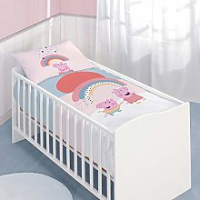 Peppa Pig Pig Baby Bedding Set 100/135 + 40/60 cm