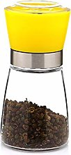 Pepper Grinder Salt Shaker Stainless Steel Manual