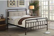 Perdue Scaffold Upholstered Bed Frame Williston