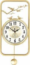 Perfect clock Pure Copper Wall Clock for Living