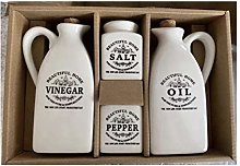 Perfect Gifts- 2020 New Ceramic Salt and Pepper