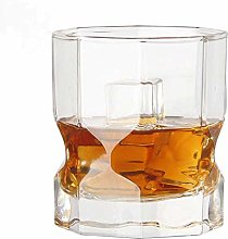 Perfect Lead-Free Crystal Glass Goblet, Octagonal