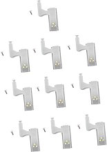 perfk 10x LED Chaniere for Interior Cabinet Door