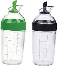 perfk 2 Pieces Easy Grips Small Salad Dressing