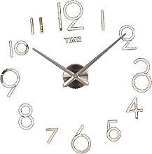 perfk 3d Wall Clock Wall Pendulum Figures Sticker
