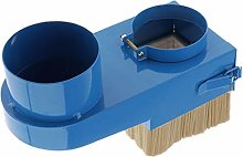 perfk Dust Shoe Brush for CNC Routers - Blue -