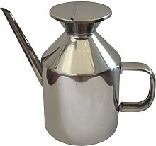 perfk Kitchen Stainless Steel Olive Oil Dispenser,
