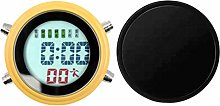 perfk Shower Clock Waterproof Wall Clock with