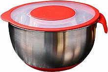 perfk Stainless Steel Bowls Salad Egg Mixing Bowl