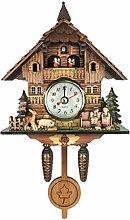 perfk Wall Cuckoo Clocks Wooden Cuckoo Clock with
