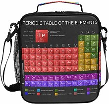 Periodic Table of The Elements Lunch Bag Insulated
